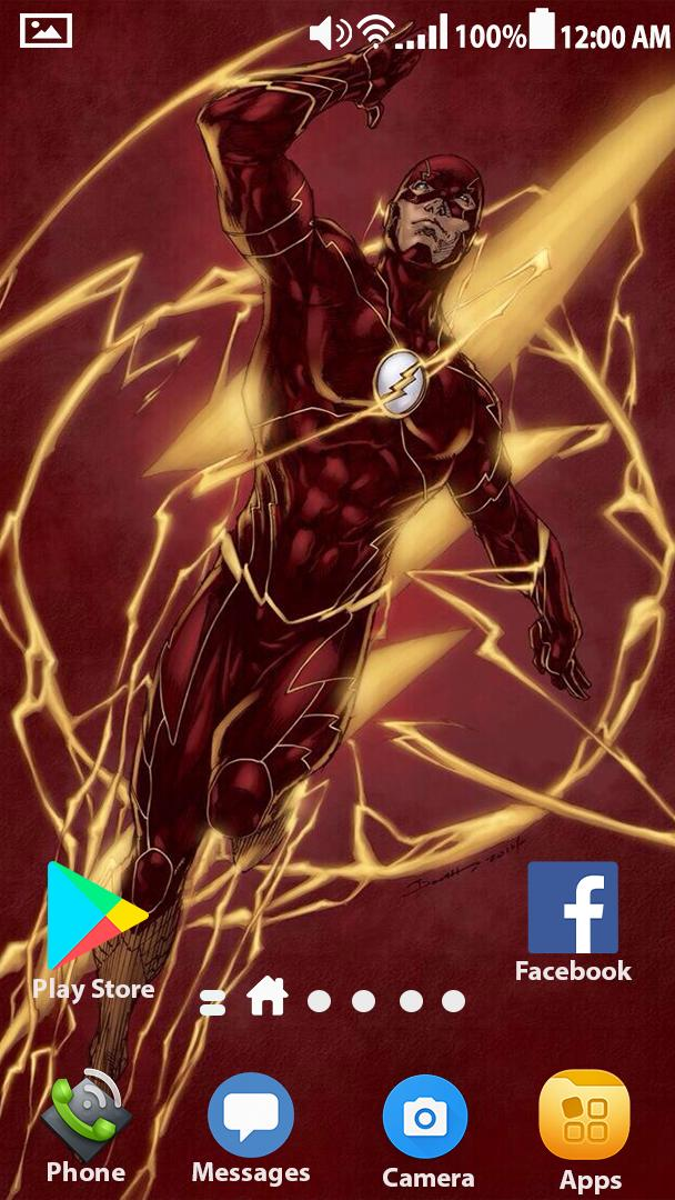Superheroes Flash Wallpaper HD 4K for Android - APK Download