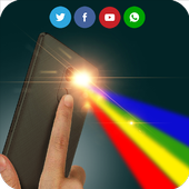 Color Flashlight Alert on Call icon
