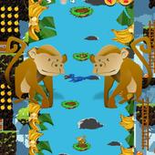 Flap Monkey Adventure 3D icon
