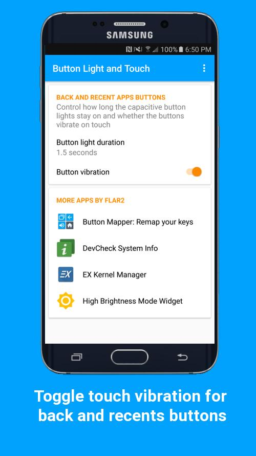 Button Light and Touch para Android - APK Baixar