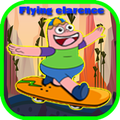 amazing flying clarence world icon