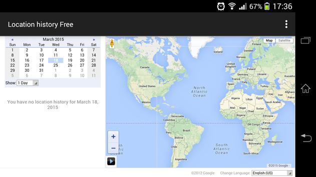 Location history Free apk screenshot