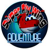 Super Hero Fly Wings icon