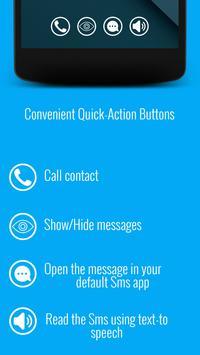 Floating Texts: Sms Popup apk screenshot