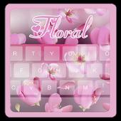 Floral Flower Beauty Keyboard icon