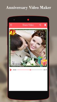 Anniversary Video Maker With Song apk screenshot
