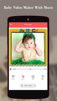 Baby Video Maker With Music screenshot 1