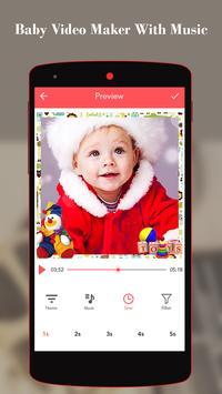 Baby Video Maker With Music screenshot 2