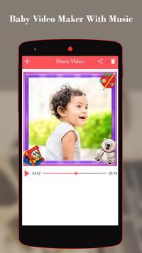 Baby Video Maker With Music screenshot 3