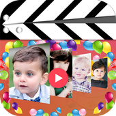 Birthday Video Maker With song icon