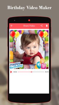Birthday Video Maker With song apk screenshot