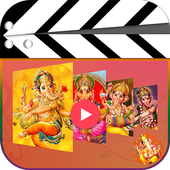Ganesh Video Maker With song icon