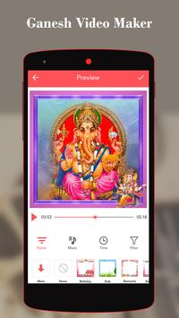 Ganesh Video Maker With song poster