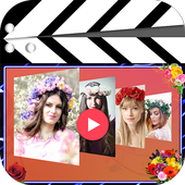 flower Video Maker With Music icon