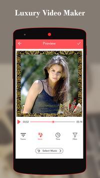 Luxury Video Maker With Music apk screenshot