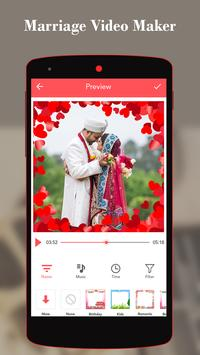 Marriage Video Maker With Music poster