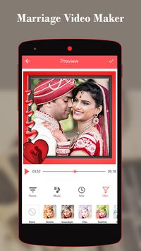 Marriage Video Maker With Music apk screenshot
