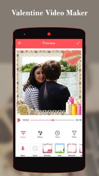 Valentine Video Maker With Song poster