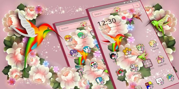 Colorful Dream Flower Birds screenshot 3