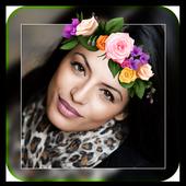 Beauty Flower Crown Photo Editor Camera Selfie icon