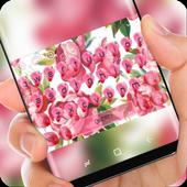 Aroma Pink Flower Keyboard icon