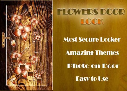 Flowers Door Lock Screen screenshot 12