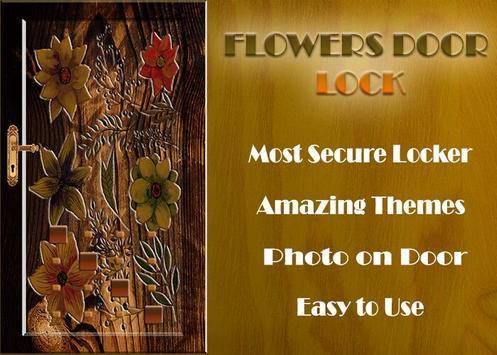 Flowers Door Lock Screen screenshot 13
