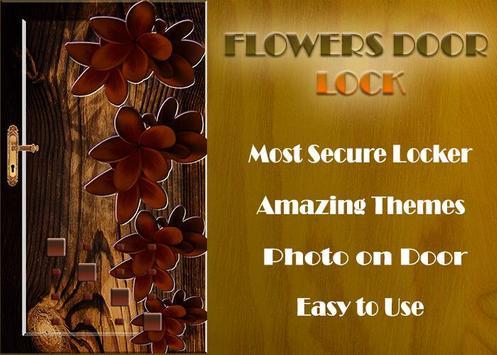 Flowers Door Lock Screen screenshot 3