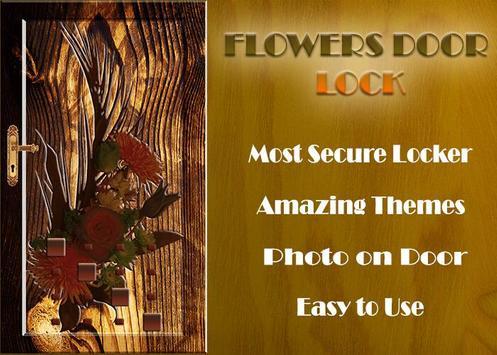 Flowers Door Lock Screen screenshot 4