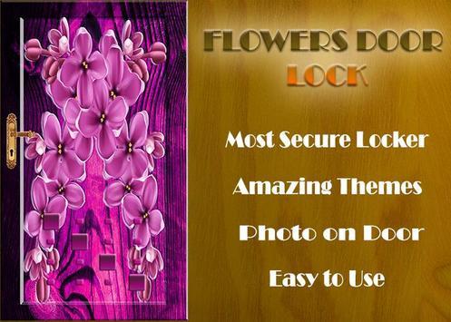Flowers Door Lock Screen screenshot 9
