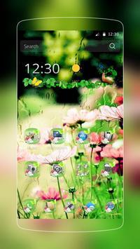 Natural Flower Rain poster