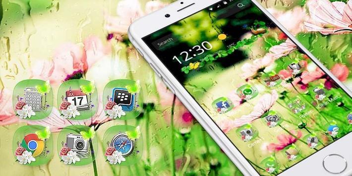 Natural Flower Rain apk screenshot