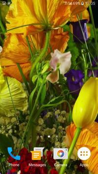 Flowers 4K Video Wallpaper apk screenshot
