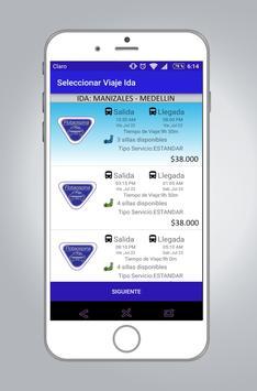 Flota Ospina   Tiquetes screenshot 1