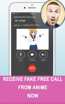 Fakecall From Anime poster