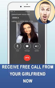 Fake Call From Girlfriend apk screenshot