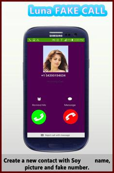 fake call from Soy Luna poster