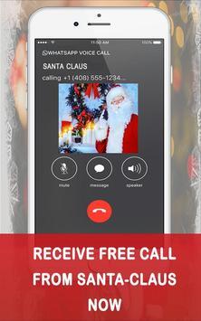 Fake Call from Santa claus screenshot 1