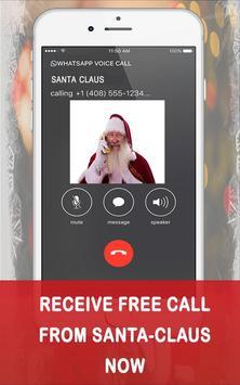 Fake Call from Santa claus screenshot 2