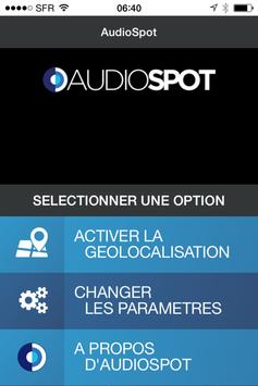 AudioSpot apk screenshot
