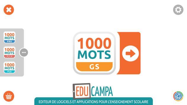 1000 Mots GS poster