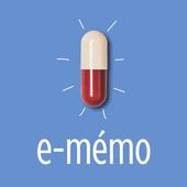 E-mémo Génériques आइकन