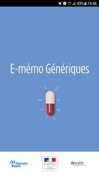 E-mémo Génériques पोस्टर