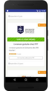 Couponer.fr - Codes promo et réductions screenshot 2