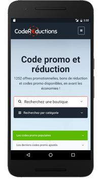 Couponer.fr - Codes promo et réductions poster