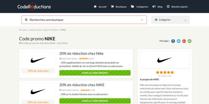 Couponer.fr - Codes promo et réductions screenshot 10
