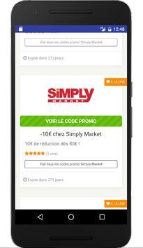 Couponer.fr - Codes promo et réductions screenshot 1