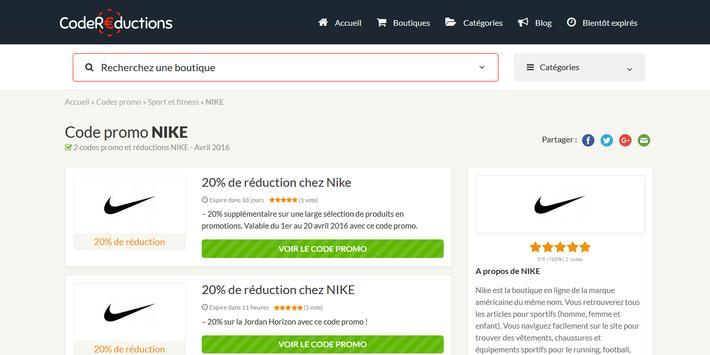 Couponer.fr - Codes promo et réductions screenshot 6
