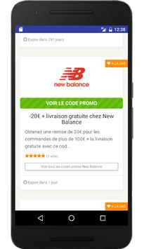Couponer.fr - Codes promo et réductions screenshot 3