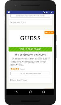 Couponer.fr - Codes promo et réductions screenshot 4